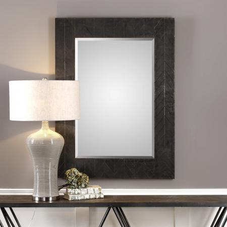 Caprione Oxidized Dark Copper Mirror_U-09294