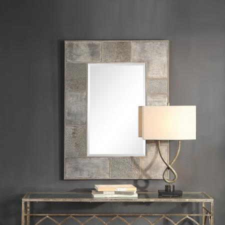 Taelon Metal Panel Mirror_U-09452