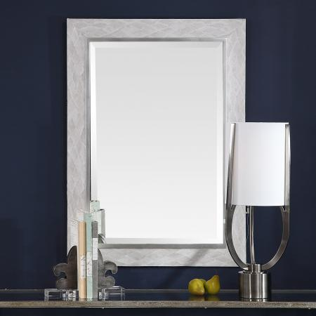 Johnston Gray Argyle Mirror_U-09469